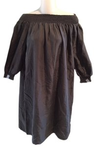 Tommy Bahama short dress Brown Off Shoulder on Tradesy