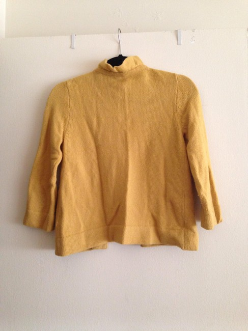 J.Crew Cardigan Yellow Cape