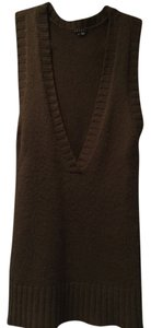 Theory short dress Olive Green 100% Cashmere on Tradesy