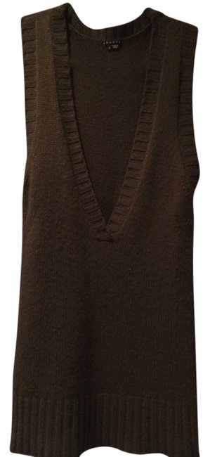 Preload https://img-static.tradesy.com/item/1208680/theory-olive-green-cashmere-vest-short-casual-dress-size-6-s-0-0-650-650.jpg