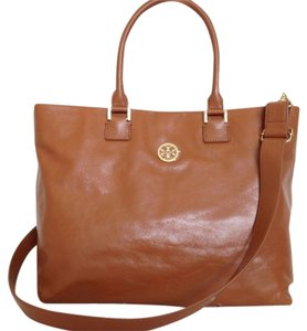 Tory Burch Dena Leather Crossbody 90009604 Tote in Brown