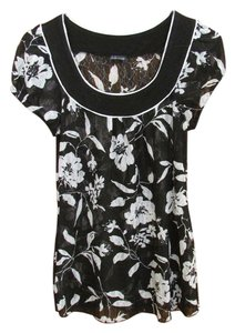Maurices Top Black/White