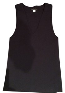 Theory Bodycon Top Black