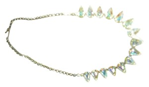 Vintage rhinestone choker with pear shaped crystals