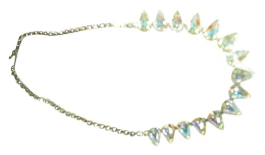 Other Vintage rhinestone choker with pear shaped crystals