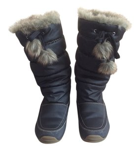Sporto Insulated Fur Lined Black Boots
