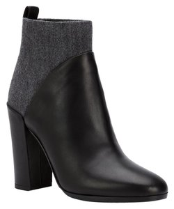 Vince Leather Bootie Black Boots