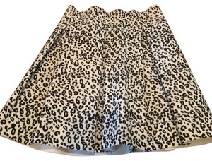 Topshop Skirt Cheetah