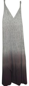 light grey to charcoal grey Maxi Dress by Garnet Hill Hill Maxi