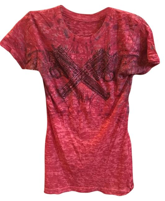 Item - Red Tee Shirt Size 4 (S)