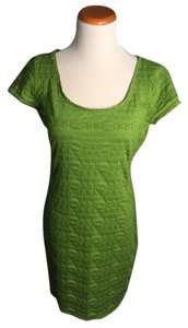 Max Studio short dress Green on Tradesy