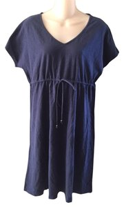 Tommy Bahama short dress Navy Short Sleeve Tie on Tradesy