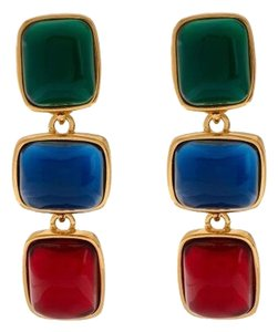 Kenneth Jay Lane Kenneth Jay Lane's Cabochon Drop Earrings