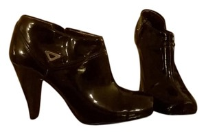 Fioni black patent leather Boots