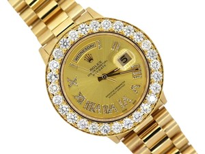 Rolex MEN'S ROLEX DAYDATE PRESIDENTIAL 8CT DIAMOND WATCH
