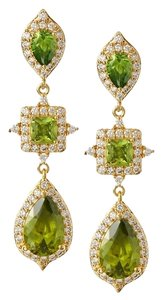 CZ by Kenneth Jay Lane CZ by Kenneth Jay Lane Triple Drop CZ Dangle Post Earrings
