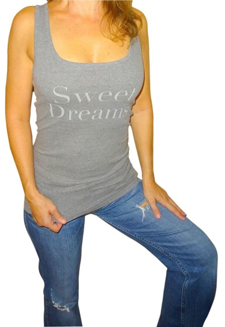 Item - Grey Gray Sweet Dreams Sexy Tank Top/Cami Size 8 (M)