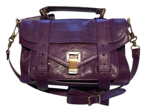 Proenza Schouler Ps1 Ps1tiny Satchel in Grape Juice