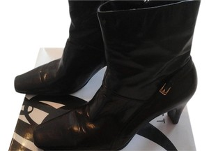 Nine West Leather Dressy Casual Dark Brown Boots