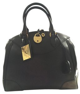Ralph Lauren Collection Satchel in Bedford Bag (Large) Black