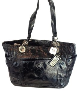 Coach Laptop Tote in Black