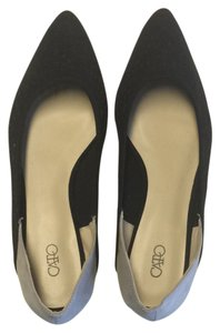 Cato Black And Gray Flats
