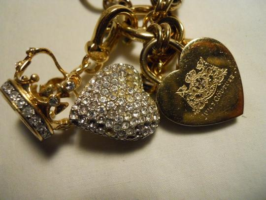 Juicy Couture Juicy Couture toggle heart with charms