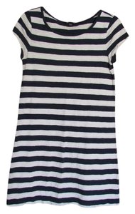 Gap short dress Navy/White on Tradesy