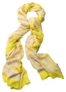 Stella & Dot Palm Springs Scarf In Citrine Floral