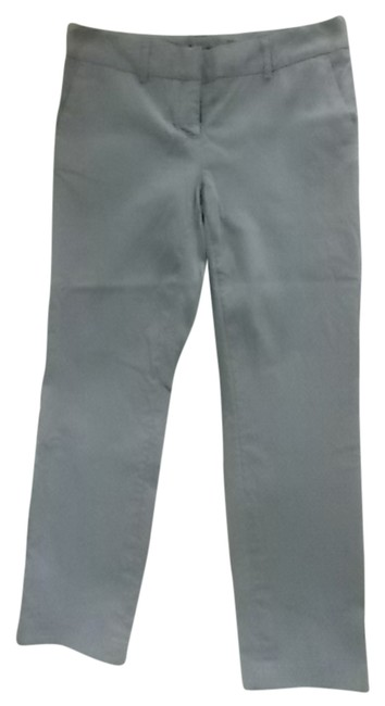 Item - Grey with Little White Dots Cropped Rn 95092 Pants Size Petite 4 (S)