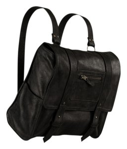 Vere Verto Convertible Backpack High Fashion Minimal Italian Leather Shoulder Bag