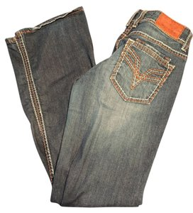 Vigoss Boot Cut Jeans-Medium Wash