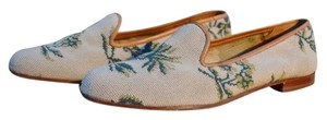 Stubbs & Wootton & Palm Tree Loafers Size 8.5 Flats
