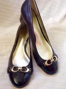 Coach Dark Brown Pumps