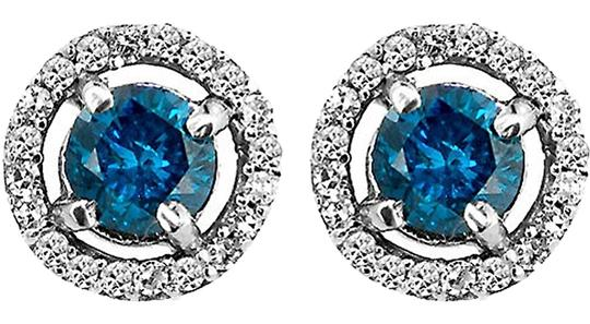 Preload https://item3.tradesy.com/images/abc-jewelry-diamond-earrings-blue-and-white-dia-halo-44tcw-blueh-si2-10k-white-gold-made-usa-1209712-0-0.jpg?width=440&height=440