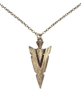 Forever 21 Forever 21 Silver Dainty Arrowhead Necklace