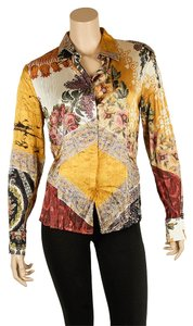 Roberto Cavalli Button Down Shirt Multi-Color