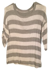 Forever 21 Top White/Grey