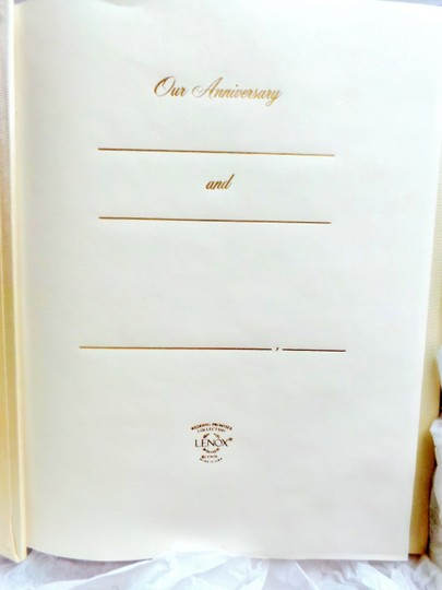 Lenox Wedding Anniversary Photo Album