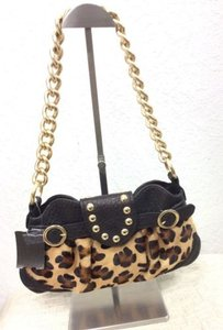 Caterina Lucchi Leopard Pony Shoulder Bag