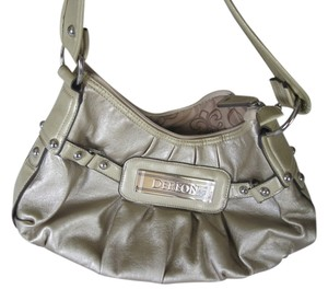 House of Dereon Metallic Metallic Shoulder Bag