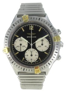 breiltling Breitling Watch Chronograph Stailess Steel 80520-1 Watch for Men