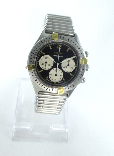 breiltling Breitling Watch Chronograph Stailess Steel 80520-1 Watch for Men Image 2