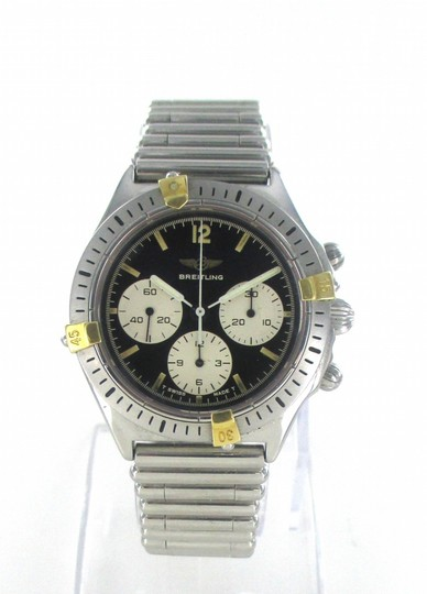 breiltling Breitling Watch Chronograph Stailess Steel 80520-1 Watch for Men Image 3