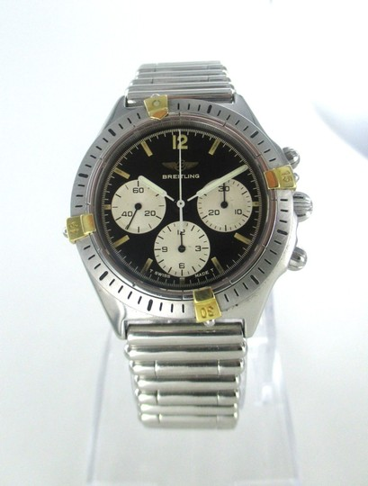 breiltling Breitling Watch Chronograph Stailess Steel 80520-1 Watch for Men Image 7