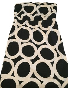 J.Crew short dress Black and white on Tradesy