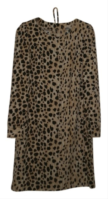 Merona short dress Leopard on Tradesy