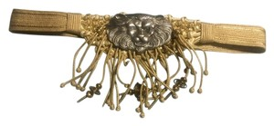 Rebecca's Vintage Lion buckle belt