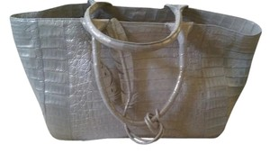 Nancy Gonzalez Tote in Metallic , metallic has come off the side, please check the sides carefully