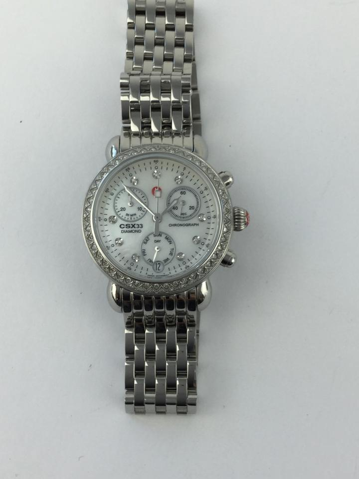 f60a8893c Michele MICHELE CSX 33 Diamond Ladies Watch Image 11. 123456789101112